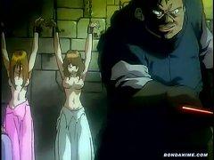 Innocent Hentai Girls Tied Up And Tortured Brutally In A Dark Prisoner Dungeon