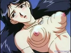 Poor Busy Anime Babe In Pain Tied Up With A Fishing Line Gets Fucked Hard