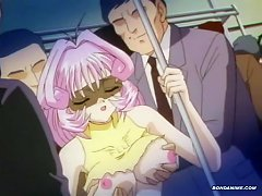 Chesty Hentai Chick Gets Molested And Sex Abused In Train