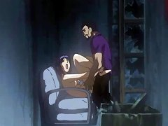 Hentai Clip With Prisoner Gal Pleasing Her Master's Dick