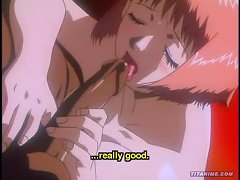 Tight Young Anime Girl Takes A Huge Cock